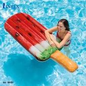 Надувной пляжный матрас мороженное Intex 58751 надувной плотик эскимо арбуз размер 191х76см