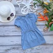 3-4 года Платье  тонкий джинс Palomino