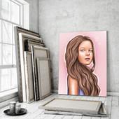 Цифровой портрет - шикарный подарок себе и близким.