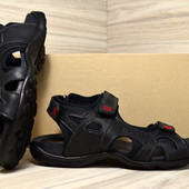 Мужские Сандалии Ecco E-1 Biom кожаные черные,синие,коричневые