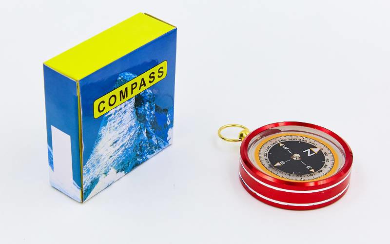 Компас жидкостный g51: диаметр 50мм (металл, пластик) фото №1
