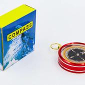 Компас жидкостный G51: диаметр 50мм (металл, пластик)