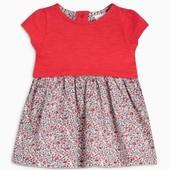 Платье с цветочными принтами Next (3-6 мес)-