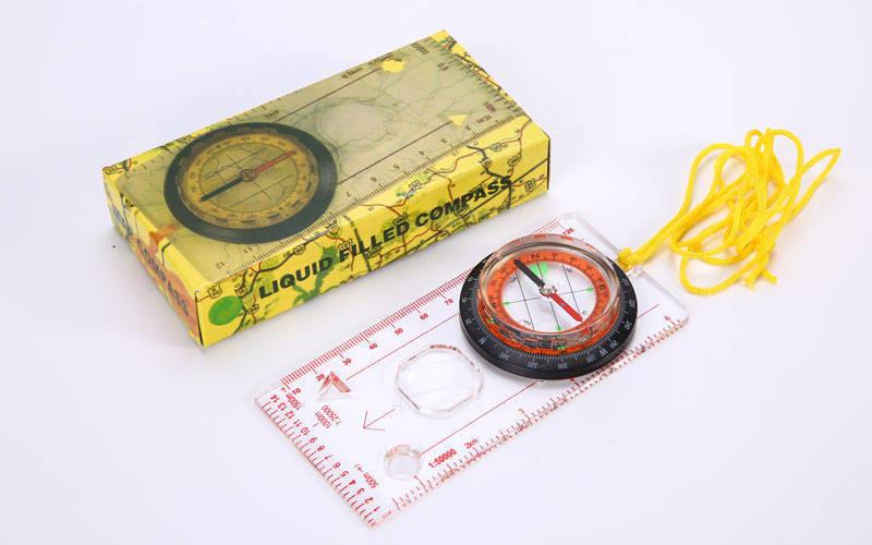 Компас жидкостный планшетный dc45-5c: d-55мм, размер 127х60мм фото №1