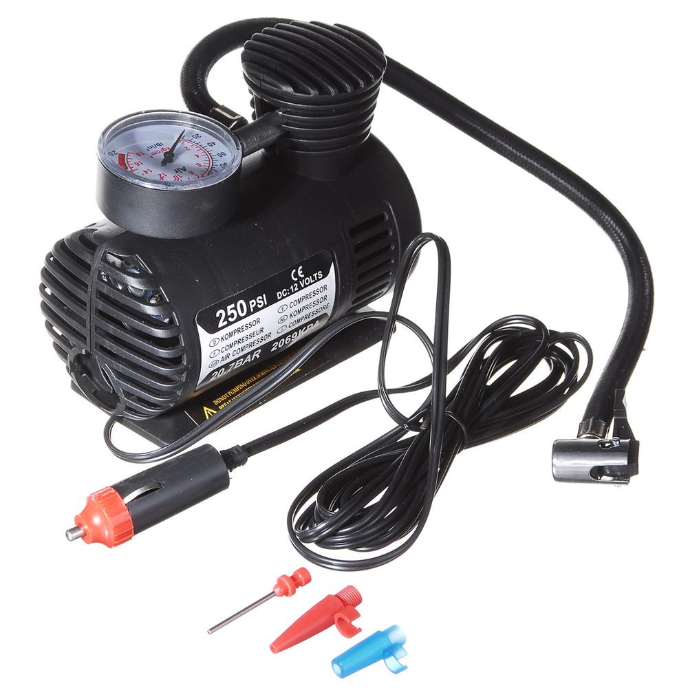 Автомобильный компрессор 10-12Amp 25л, Air Pomp фото №1