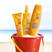 Солнцезащитный лосьон, лосьон-спрей, мультивитаминный крем  для детской кожи SPF 30