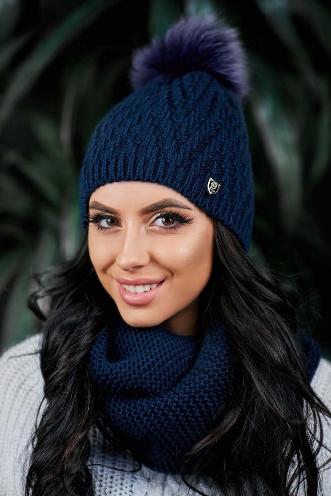 Женская шапочка  фото №1