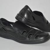 Мужские кожаные туфли, мокасины Распродажа 320грн