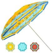 Зонт пляжный d1,8м наклон