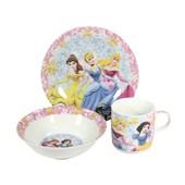 Набор детской посуды 3 предмета фарфор Принцессы Disney