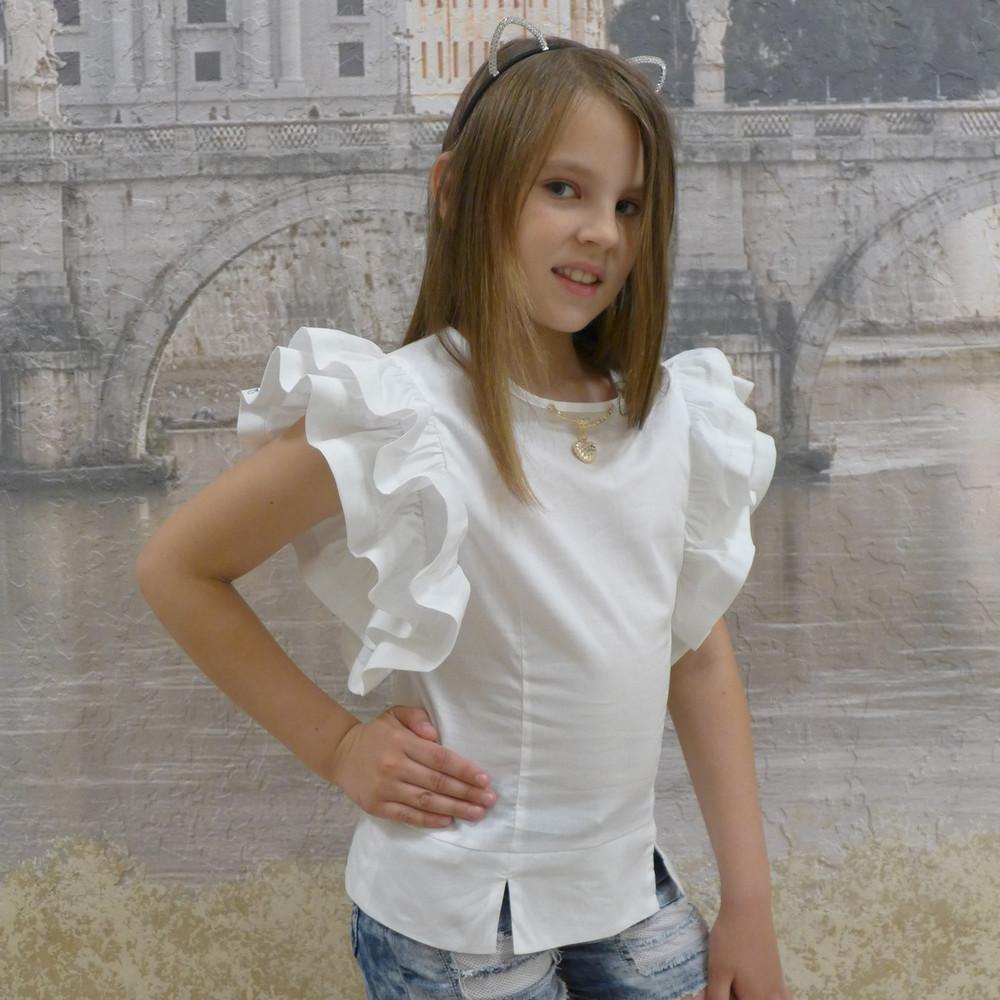 Нарядная школьная блузка фото №1
