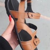 Мужские кожаные сандали, босоножки(есть Дропшиппинг)