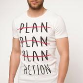 2-19 Мужская футболка DeFacto одежда Турция чоловіча футболка майка мужская одежда