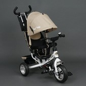 Велосипед детский 3-х колёсный 6588 бежевый Best Trike, колесо пена