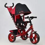 Велосипед 5700 - 4670 красный Best Trike, поворотное сидение, колеса eva d 28см d 24см