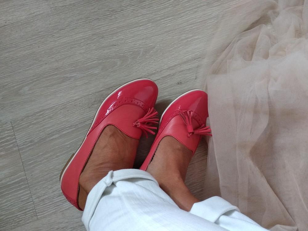 Туфли/балетки натуральная кожа размер 37 фото №1