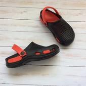 Акция, размеры: 30-35, детские кроксы, пляжная обувь