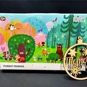 Пазлы Додо Лесные друзья: 80 деталей