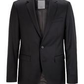 Классический шерстяной пиджак известного немецкого бренда S.Oliver Premium