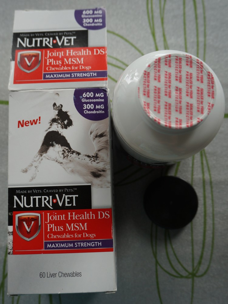 Nutri-vet joint health ds plus msm maximum strength (аналог advanced strength) фото №1