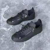 Кроссовки Adidas y- 3 Stan Smith Yohji yamamoto stan zip All black , код vm-1907