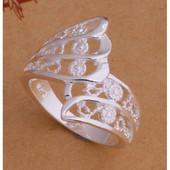 Нежное женское кольцо р 18