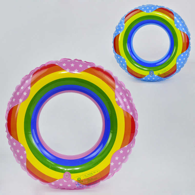 Круг для плавания радуга 29064 150 , 90см фото №1