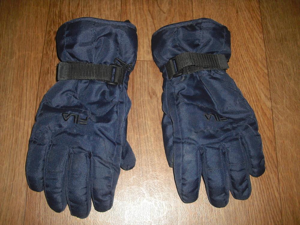 Мужские зимние перчатки fila размер xl фото №1