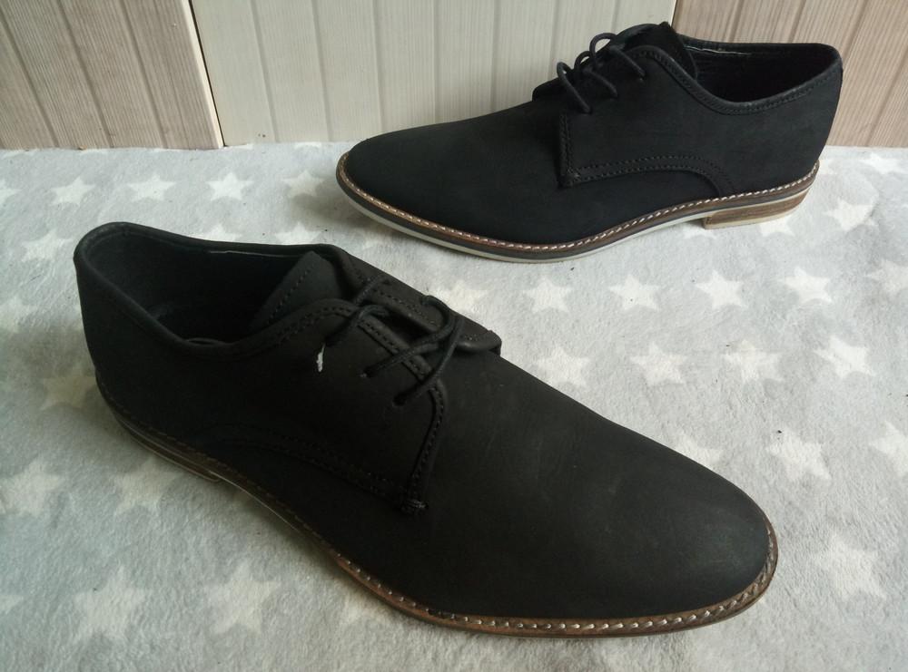 Am Shoe Company Туфлі із нубуку 40 рр і устілка 28 см. фото №1