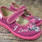Большой выбор! детские тапочки Waldi Валди для девочки