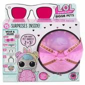 L.o.l. surprise!! сюрприз в шаре серии Секретные месседжи Любимец Big Банни-бон biggie pet hop hop