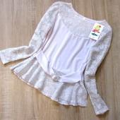 Распродажа! - Детская блузка р.122,128
