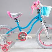 двухколесный велосипед Royal Baby Роял Беби 12 Stargirl Blue