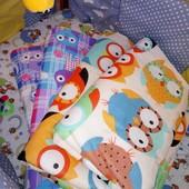 Детское одеяло в кроватку, люльку, игровой коврик, конверт