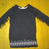 Шикарне плаття HM 98-104 см стан чудесний