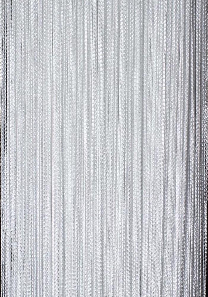 Шторы нити однотонные, готовая гардина из нитей, размер 3 на 3 фото №1