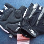 Перчатки для спорта велоспорта с гелем Crane Германия, р. 8,5