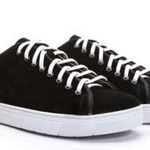 замшевые черные спортивные туфли BFG Moda.shoes- 028. фирменная Турция