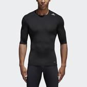 Термофутболка Adidas techfit base layer short sleeve tee black