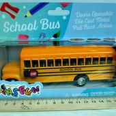 Машина металл KS 6501 School Bus