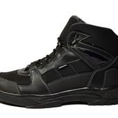 Стильные мужские ботинки черного цвета 40-45рр. (КБ-07-blk)