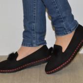 Комфортные замшевые туфли 37,39,41р  23.3см, 24.5см, 25.5см