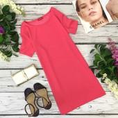 Спокойное платье с вырезом лодочкой L  DR1830015