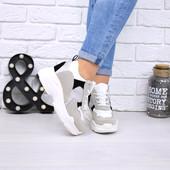 Кроссовки сникерсы на платформе
