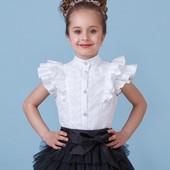 Школьная форма. Zironka, Блуза нарядная с пышным рукавом