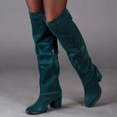 Новинка! женские замшевые сапоги/бофорты код:ЛЛ 85661
