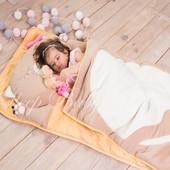 Кошечка капучино -детский спальник-слипик
