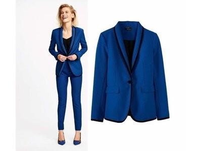 Элегантный шикарный пиджак блейзер esmara heidi klum.  42 евро фото №1