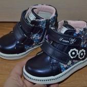Демисезонные ботинки для девочки Тom.m. Р.22-27