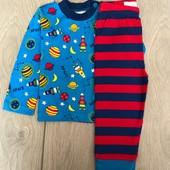 Primark пижамка для маленьких мальчиков 6-12м